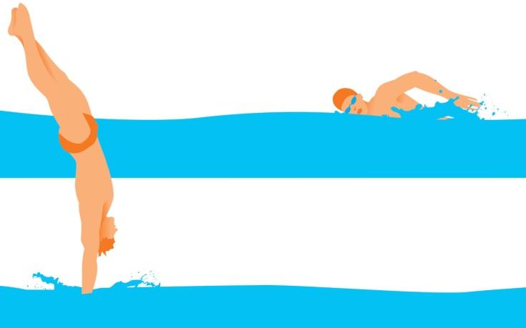 Tshirt- nuoto righe_2