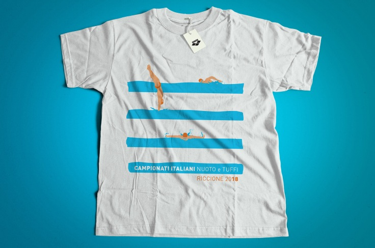 Tshirt- nuoto righe_3
