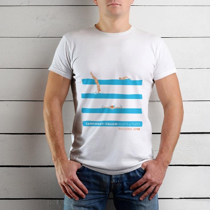 Tshirt- nuoto righe_4