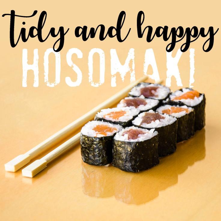 happy hosomaki