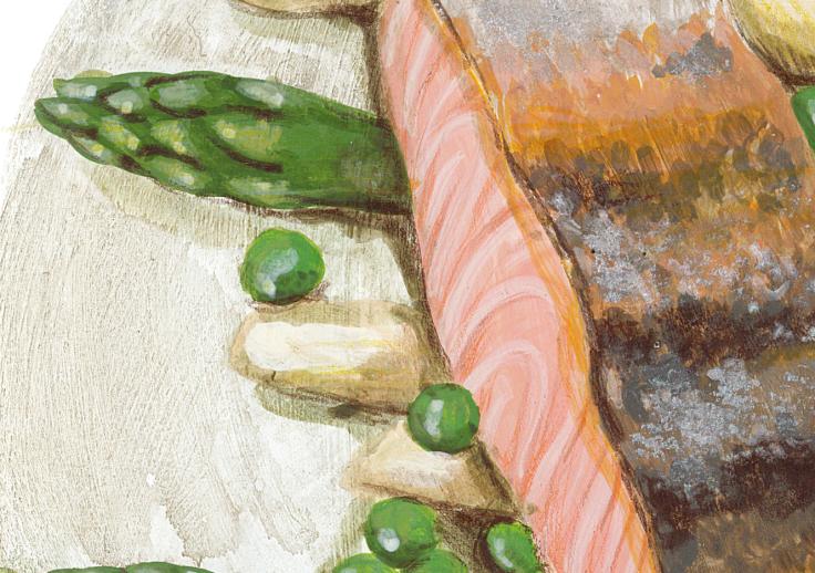 Salmone asparagi piselli Carbon_0812_3