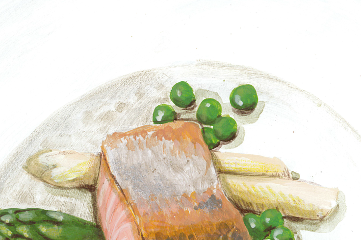 Salmone asparagi piselli Carbon_0812_7