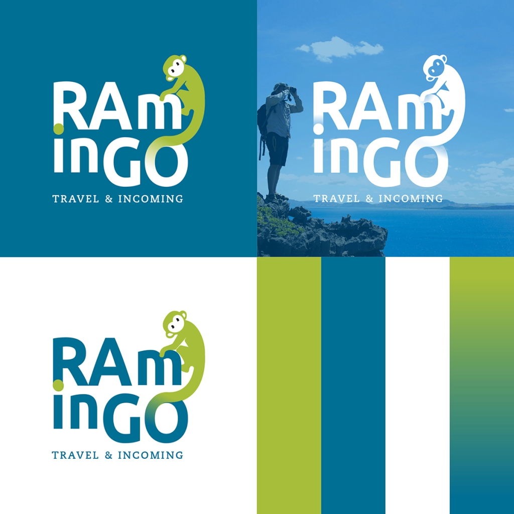 Le versioni del logo RAminGO